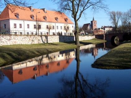 Fosa zamku krzyżackiego w Brodnicy