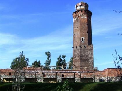 Ruiny zamku krzyżackiego w Brodnicy