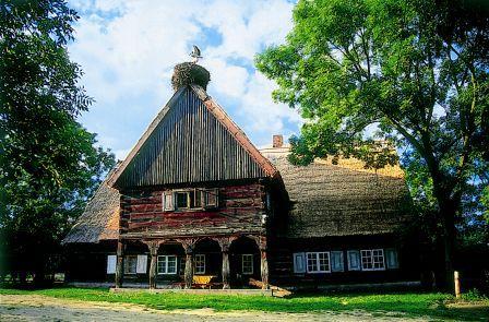 chata w Chrystkowie