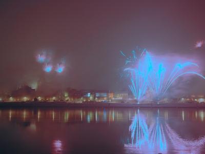 Widok na Toruń