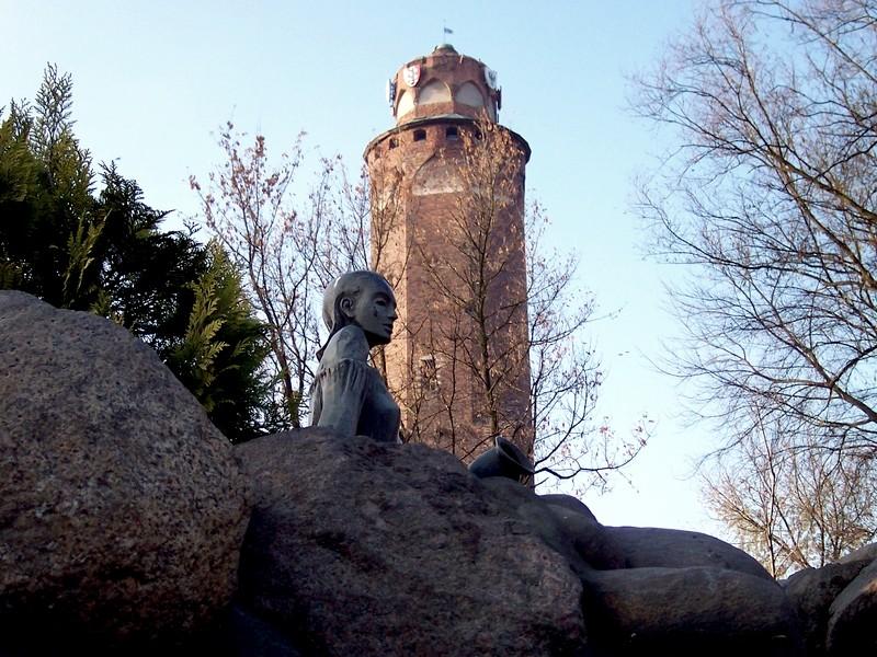 Pozostałości zamku krzyżackiego Brodnica