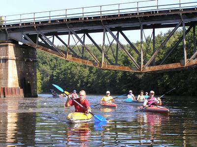Spływ kajakowy Rzeka Wda