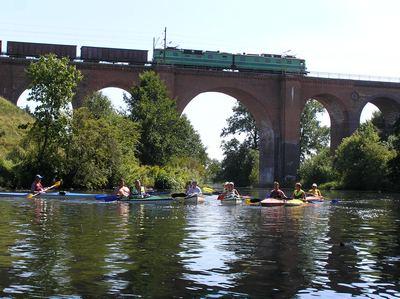 Spływ kajakowy Rzeka