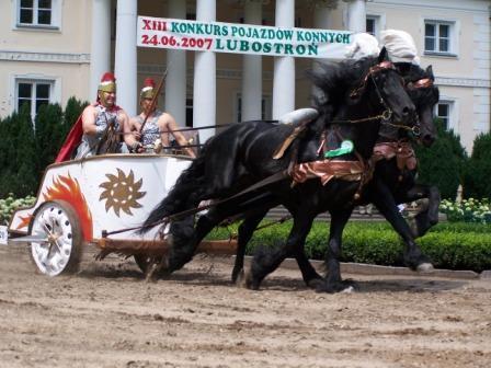 Konkurs pojazdów konnych w Lubostroniu