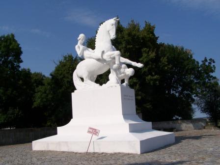 Pomnik LEszka Białego w Marcinkowie