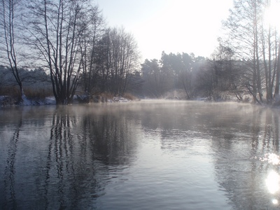Rzeka Brda spływy kajakowe zima wiosna lato