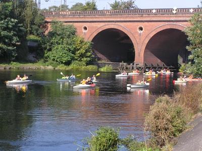 kajaki spływ kajakowy Rzeka Brda Bydgoszcz