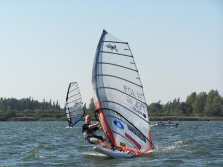 Zawody Windsurfingowe na Jeziorze Dużym Żnińskim