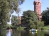 Rzeka Wda spływy kajakowe kajaki Zmek krzyżacki Świecie