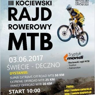 III Kociewski Rajd Rowerowy MTB