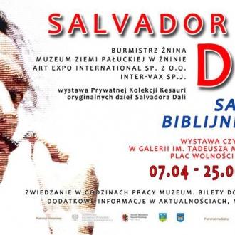 """""""Salvador Dali. Biblijne Przesłanie"""" w Żninie"""