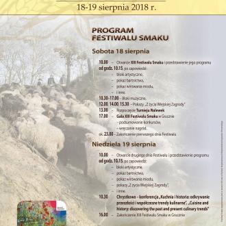 XIII Festiwal Smaku w Grucznie
