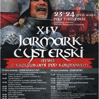 XIV Jarmark Cysterski oraz Inscenizacja Bitwy z Krzyżakami...