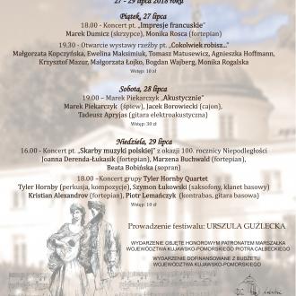 XVII Festiwal Muzyka w Świetle Księżyca