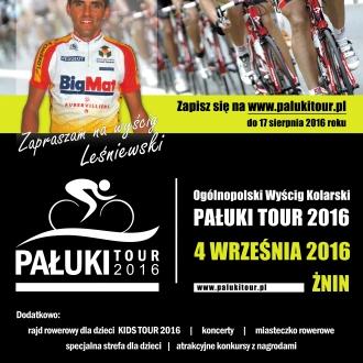 Ogólnopolski Wyścig Kolarski PAŁUKI TOUR 2016