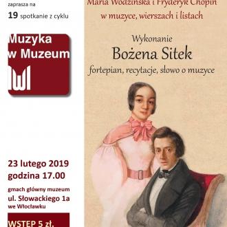 Z łąk i salonów — Maria Wodzińska i Fryderyk Chopin w...