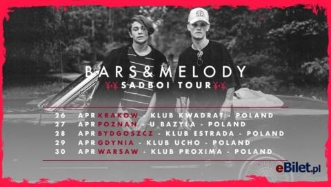 """Galeria dla Bars & Melody """"Sadboi Tour"""" [Przełożony]"""