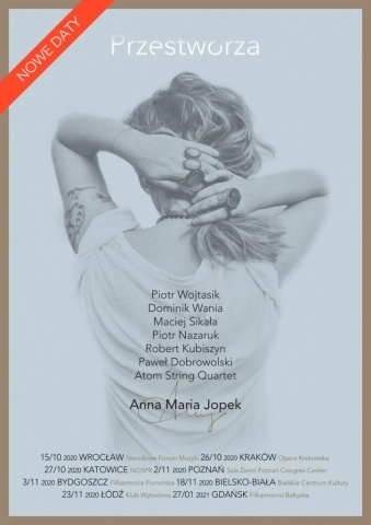 Galeria dla Anna Maria Jopek - Przestworza [zmiana daty]