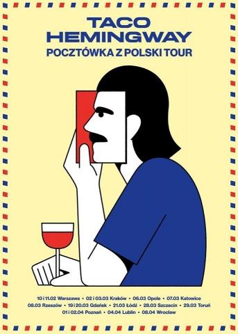 Galeria dla Taco Hemingway: Pocztówka z Polski Tour