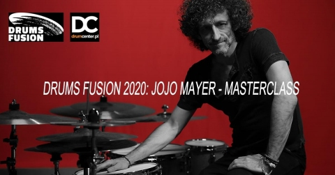 Galeria dla Drums Fusion 2020: Jojo Mayer - Masterclass