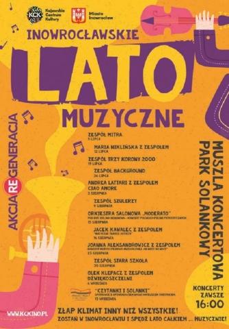 Galeria dla Inowrocławskie Lato Muzyczne: Andrea Lattari z zespołem Ciao Amore