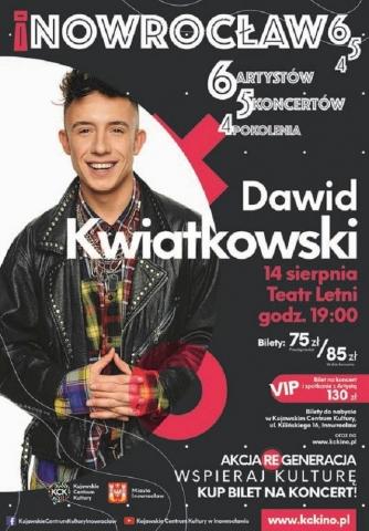 Galeria dla Inowrocław 654: Koncert Dawida Kwiatkowskiego