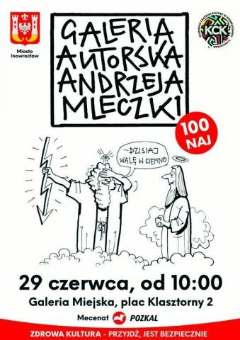 Galeria dla Wystawa Rysunków Andrzeja Mleczki