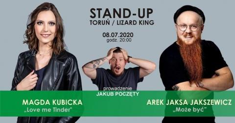 Galeria dla Stand-up Kings: Magda Kubicka & Arkadiusz Jaksa Jakszewicz