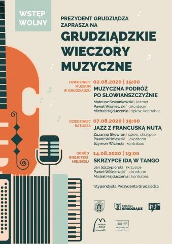 """Galeria dla Grudziądzkie Wieczory Muzyczne """"Jazz z francuską nutą"""""""