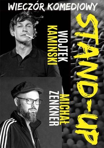 """Galeria dla Stand-up: Wojtek Kamiński, Michał """"Mimi"""" Zenkner"""