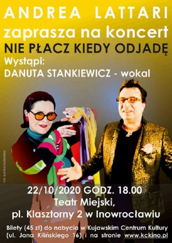 """Galeria dla Recital Danuty Stankiewicz """"Nie płacz, kiedy odjadę"""""""
