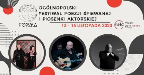Galeria dla Ogólnopolski Festiwal Piosenki Śpiewanej i Piosenki Aktorskiej Forma 2020 - dzień 2