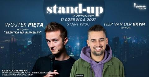 Galeria dla Stand-up w Inowrocławiu: Wojtek Pięta, Filip van der Brym
