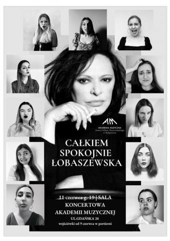 """Galeria dla Koncert """"Całkiem spokojnie Łobaszewska"""""""