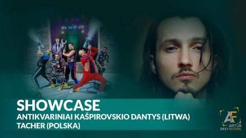 Galeria dla Artus Festival: Tacher i Antikvariniai Kašpirovskio dantys Koncerty Showcase I Dzień