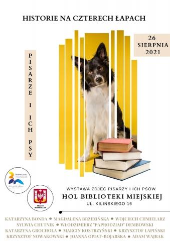 """Galeria dla Wystawa """"Historie na czterech łapach. Pisarze i ich psy"""""""