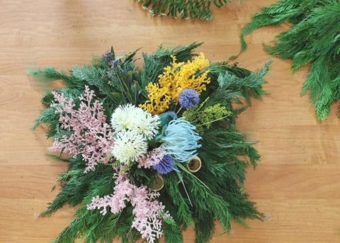 Galeria dla Warsztaty florystyczne: Kompozycje Funeralne