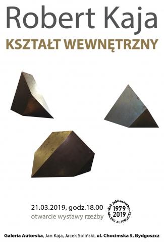 """Galeria dla Wystawa rzeźby Roberta Kaji """"Kształt wewnętrzny"""" i spotkanie poetyckie """"W skali wyobraźni"""""""