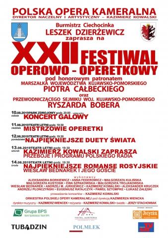 Galeria dla Festiwal Operowo-Operetkowy