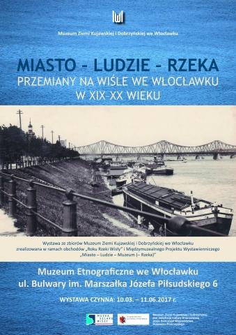 Galeria dla Miasto – Ludzie – Rzeka. Przemiany na Wiśle we Włocławku w XIX–XX wieku - wystawa