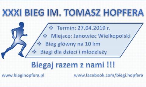 Galeria dla XXXI Bieg im. Tomasza Hopfera