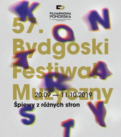 Galeria dla 57. Bydgoski Festiwal Muzyczny KONTRASTY – ŚPIEWY Z RÓŻNYCH STRON