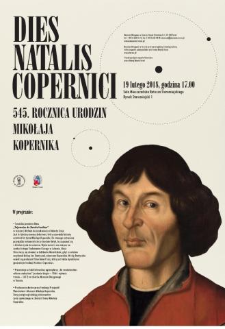 Galeria dla Dies Natalis Copernici - 545. rocznica urodzin M.Kopernika