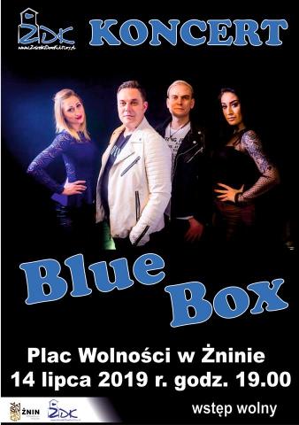 Galeria dla Koncert zespołu BLUE BOX