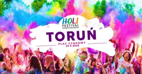 Galeria dla Toruń Holi Festival - Święto Kolorów w Toruniu
