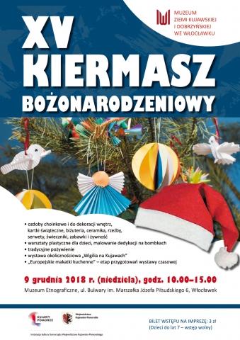 Galeria dla XV kiermasz bożonarodzeniowy w Muzeum Etnograficznym we Włocławku