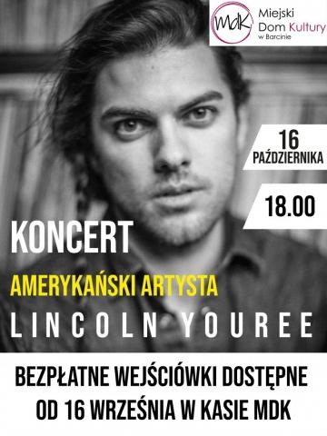 Galeria dla Koncert amerykańskiego artysty Lincolna Youree