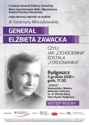 """Galeria dla Generał Elżbieta Zawacka, czyli jak """"Cichociemna"""" została """"Fordonianką"""""""