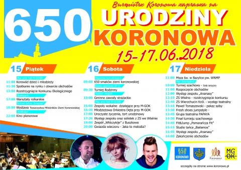 Galeria dla 650 urodziny Koronowa!