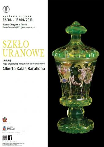 Galeria dla Szkło uranowe z kolekcji Ambasadora Peru